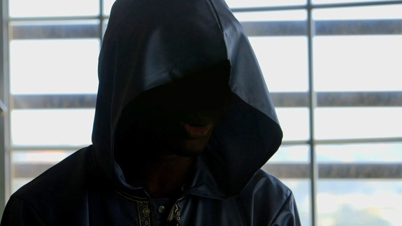 Screenshot of Anas from the film Justice!